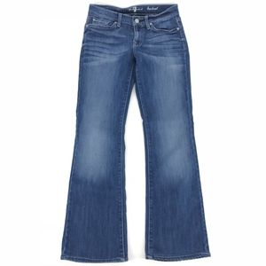 Seven For All Mankind Bootcut Denim Jeans